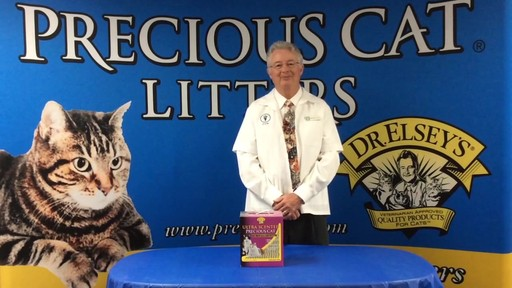 Precious Cat Dr. Elsey's Ultra Scented Scoopable Multi-Cat Cat Litter, 20 lbs. - image 1 from the video