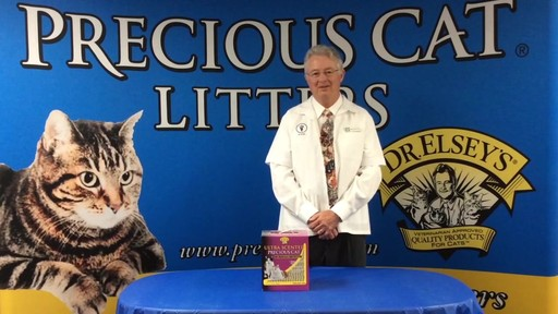 Precious Cat Dr. Elsey's Ultra Scented Scoopable Multi-Cat Cat Litter, 20 lbs. - image 2 from the video