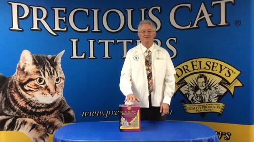 Precious Cat Dr. Elsey's Ultra Scented Scoopable Multi-Cat Cat Litter, 20 lbs. - image 4 from the video