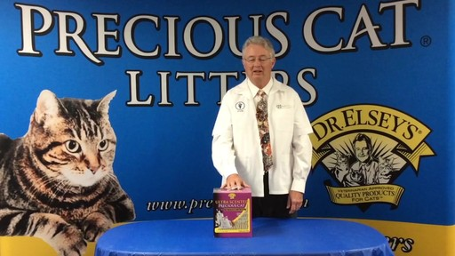 Precious Cat Dr. Elsey's Ultra Scented Scoopable Multi-Cat Cat Litter, 20 lbs. - image 9 from the video