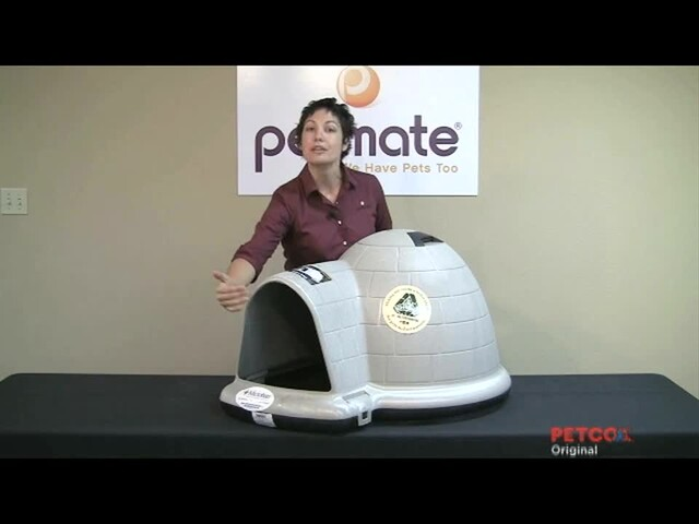 Petmate Indigo Dog Home - image 8 from the video