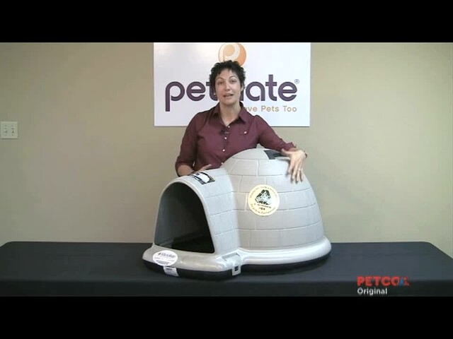 Petmate Indigo Dog Home - image 9 from the video