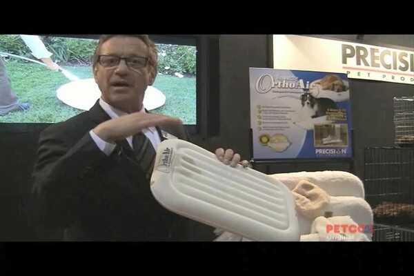 SnooZZy Ortho Air Inflatable Dog Bed by Precision Pet - image 7 from the video