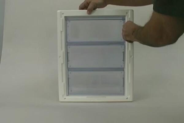Multi Flex Pet Door By Perfect Pet Petco Video