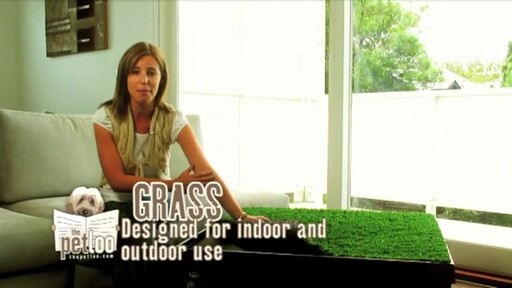 The Pet Loo Indoor Yard Training System - image 2 from the video
