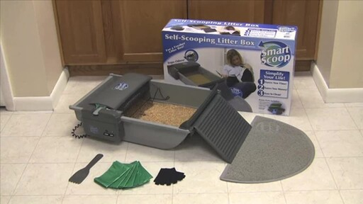 SmartScoop Self-Scooping Cat Litter Box - image 2 from the video