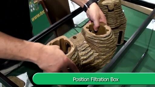 Tetra Viquarium Reptile & Amphibian Terrarium Décor Setup  - image 4 from the video