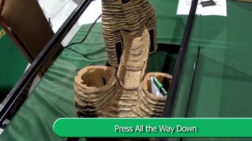 Tetra Viquarium Reptile & Amphibian Terrarium Décor Setup  - image 6 from the video