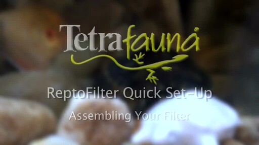 Tetrafauna ReptoFilter Quick Set-Up - image 3 from the video