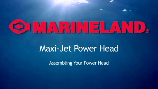 Marineland Maxi-Jet Multi-Use Aquarium Water Pump & Power Head - image 2 from the video