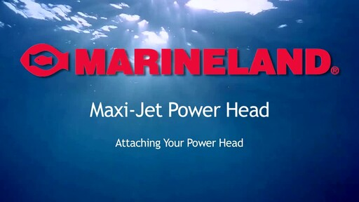 Marineland Maxi-Jet Multi-Use Aquarium Water Pump & Power Head - image 9 from the video