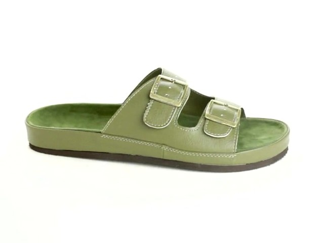 Maxi 2-Buckle Sandal by Comfortview® - image 1 from the video