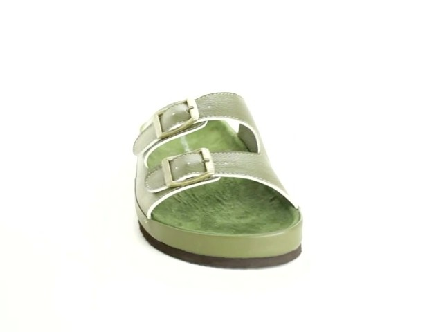 Maxi 2-Buckle Sandal by Comfortview® - image 10 from the video