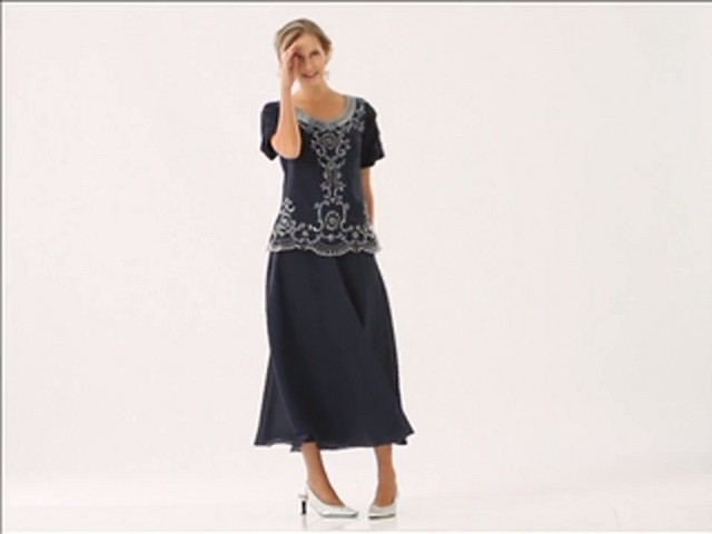 Beaded Fit and Flare Dress - image 1 from the video