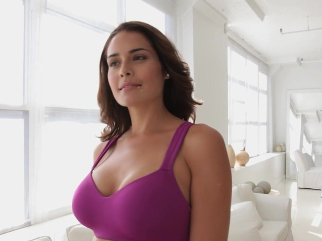 Wirefree back smoothing bra by Comfort Choice® - image 4 from the video
