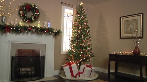 brylanehome 8ft christmas tree in a bag image 9 from the video - 8 Ft Christmas Tree