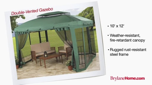 BrylaneHome Gazebos - image 3 from the video