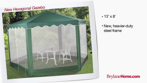 BrylaneHome Gazebos - image 8 from the video