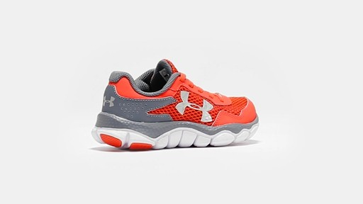 Boys' Pre-School UA Engage II BL Shoes - image 10 from the video
