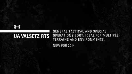 UA Valsetz RTS Boots - image 1 from the video