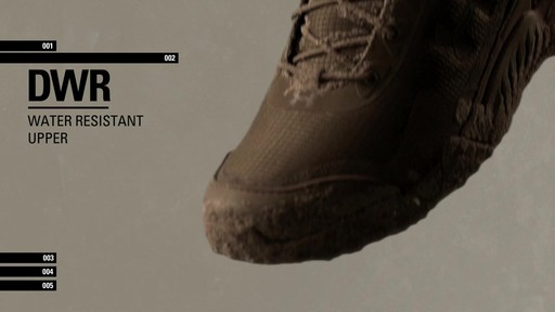 UA Valsetz RTS Boots - image 5 from the video