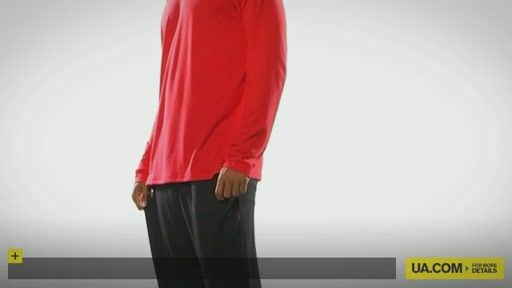 Men's UA Tech™ Longsleeve T - image 10 from the video
