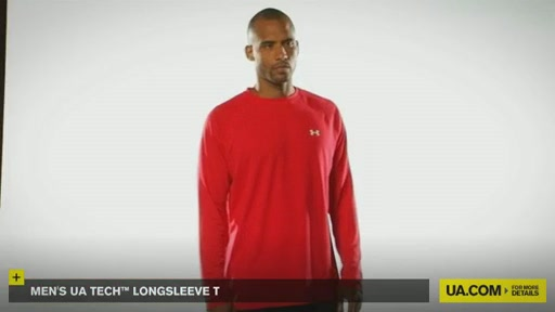 Men's UA Tech™ Longsleeve T - image 2 from the video
