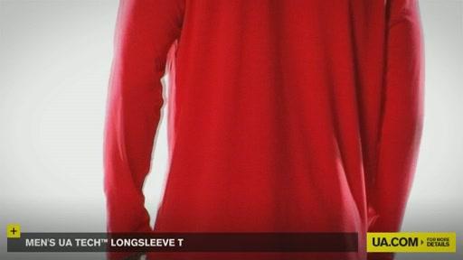 Men's UA Tech™ Longsleeve T - image 5 from the video