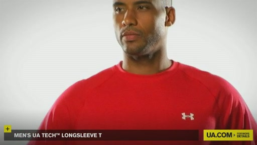 Men's UA Tech™ Longsleeve T - image 8 from the video