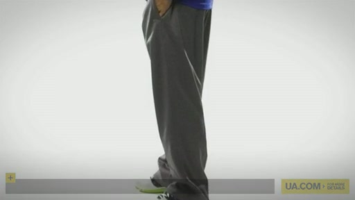 Men's Armour® Fleece Performance Pant   - image 10 from the video