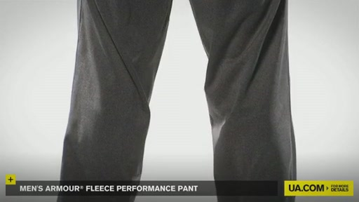 Men's Armour® Fleece Performance Pant   - image 2 from the video