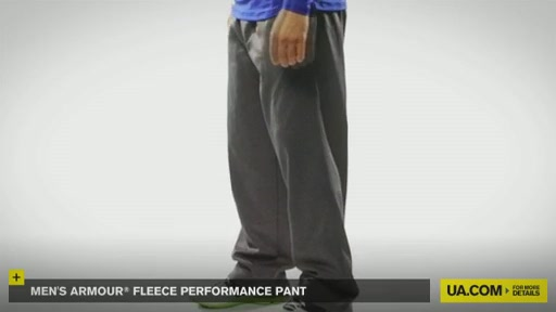 Men's Armour® Fleece Performance Pant   - image 9 from the video