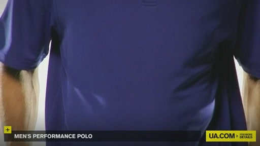 Men's Performance Polo - image 3 from the video