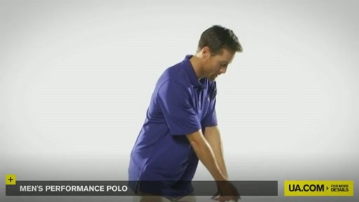Men's Performance Polo - image 4 from the video
