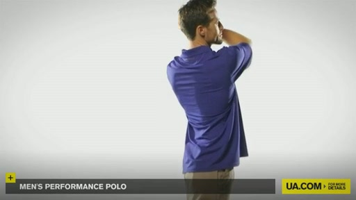 Men's Performance Polo - image 5 from the video