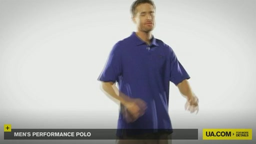 Men's Performance Polo - image 6 from the video