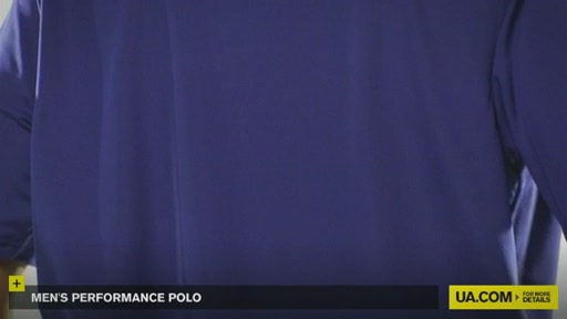 Men's Performance Polo - image 7 from the video