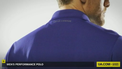 Men's Performance Polo - image 8 from the video