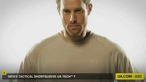 Men's Tactical Shortsleeve UA Tech™ T - image 2 from the video