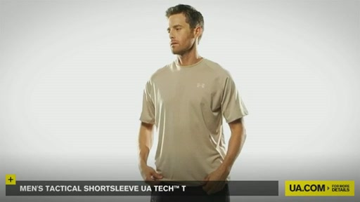 Men's Tactical Shortsleeve UA Tech™ T - image 3 from the video
