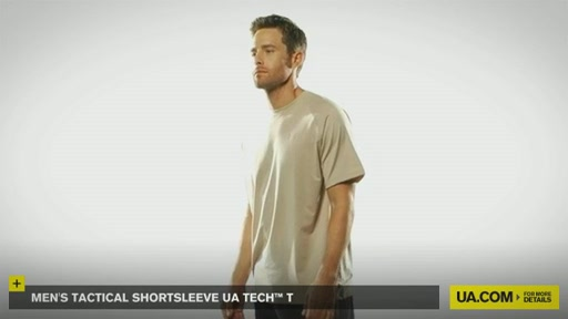 Men's Tactical Shortsleeve UA Tech™ T - image 4 from the video