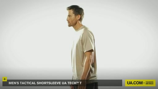 Men's Tactical Shortsleeve UA Tech™ T - image 5 from the video