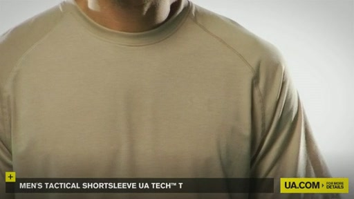 Men's Tactical Shortsleeve UA Tech™ T - image 6 from the video