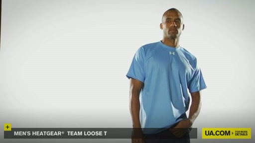 Men's HeatGear® Team Loose T - image 2 from the video