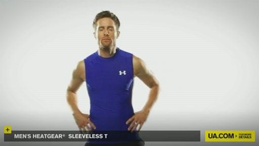 Men's HeatGear® Sleeveless T  - image 2 from the video