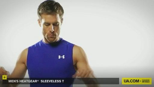 Men's HeatGear® Sleeveless T  - image 7 from the video