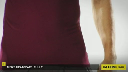 Men's HeatGear® Full T - image 7 from the video
