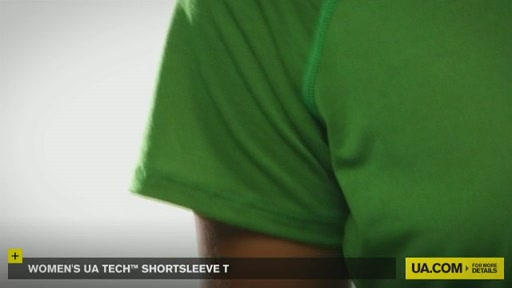 Women's UA Tech™ Shortsleeve T - image 3 from the video