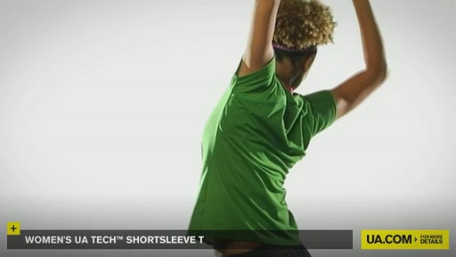 Women's UA Tech™ Shortsleeve T - image 7 from the video