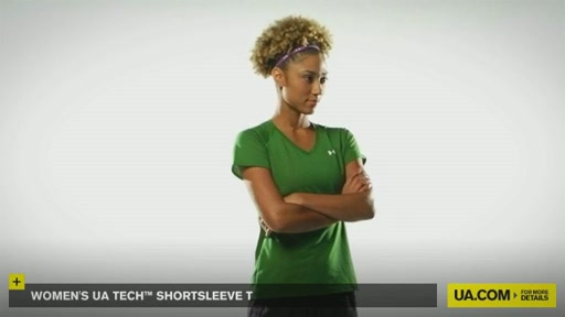 Women's UA Tech™ Shortsleeve T - image 9 from the video